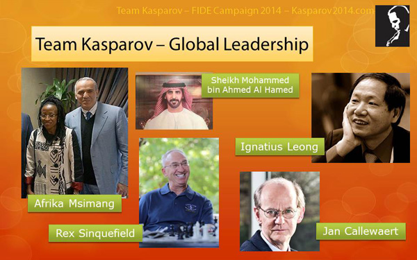 kasparov fide 2014 ticket
