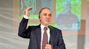 Kasparov Presentation at Launch