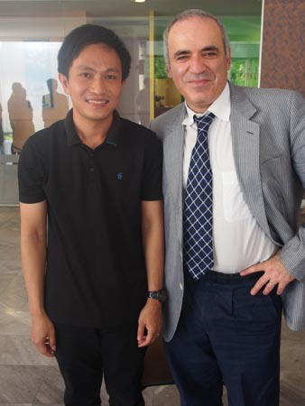 Uaychai Kongsee, the National Champion for Chess and Thai Chess