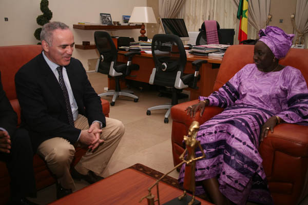 Lady Aminata Touré: Prime Minister of Senegal.