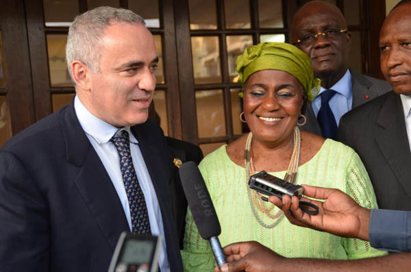 "Ivory Coast.  At the end of these exchanges, the first vice-chairperson Fadika Sako concluded: ""We have truly been convinced by your first sentence. It remains for us to present and to submit our findings to the National Assembly's President so that the bill drafting can be decided on."""