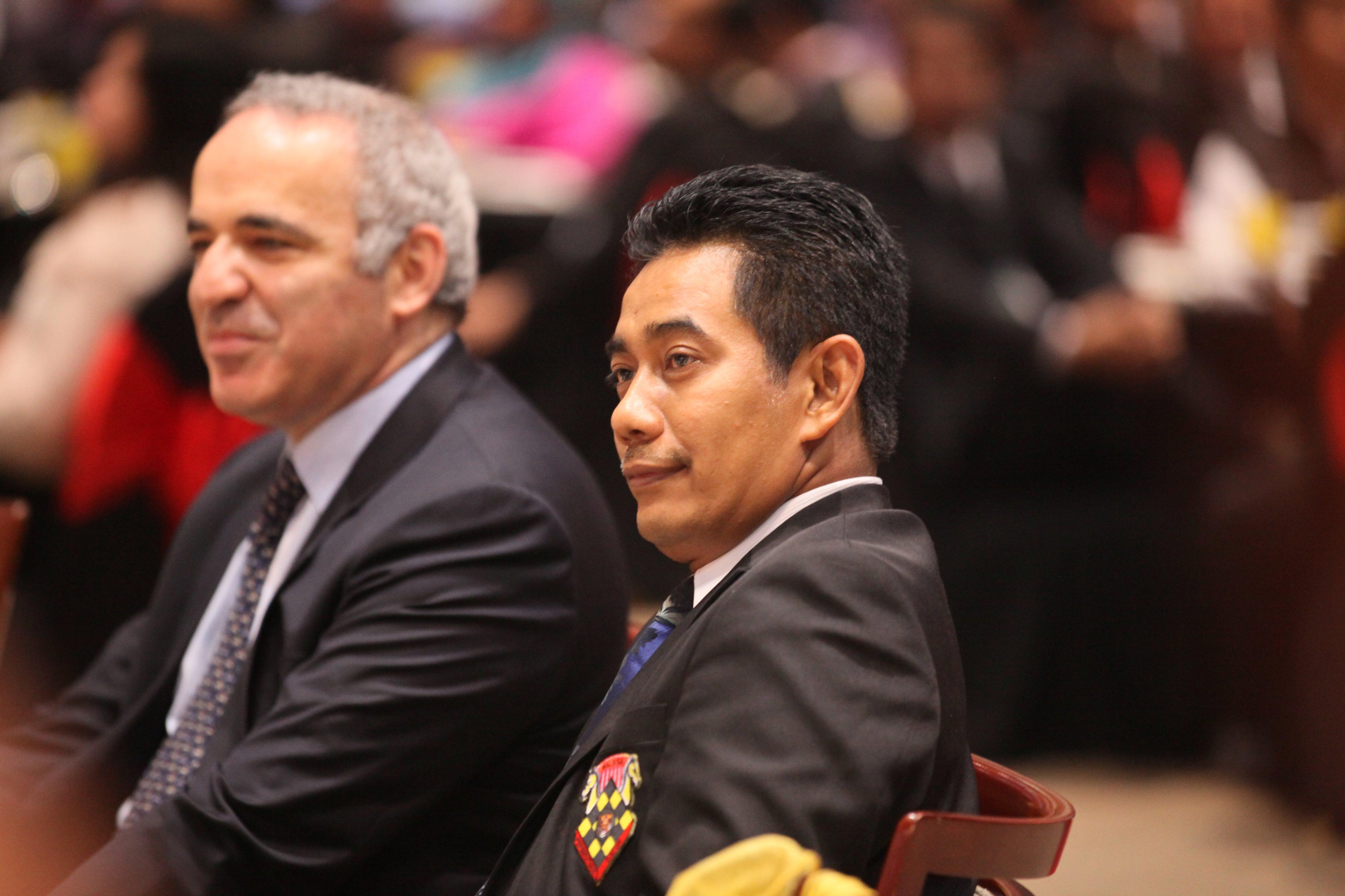 Garry and Tengku Ahmad Badli Shah