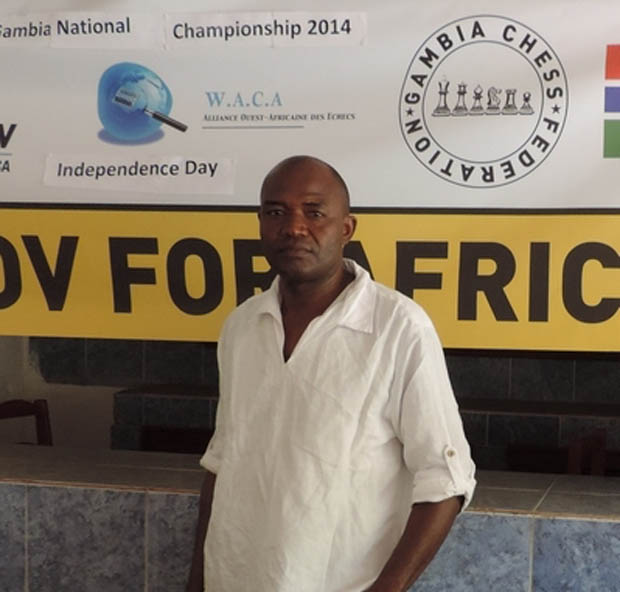 Report by Alieu M Sallah, Secretary General of the Gambian Chess Federation