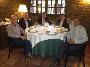 Left to right: Jan Callewaert, Francesc Rechi, Silvio Danilov, Josep Rivero, Oscar De la Riva, Joan Antoni Obregon